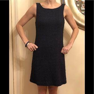 Theory knit lined sleeveless dress